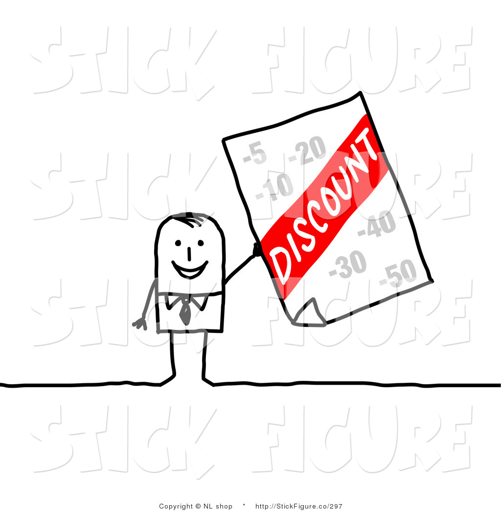 Advertisement clipart advertising Figure Free Stick a Stick