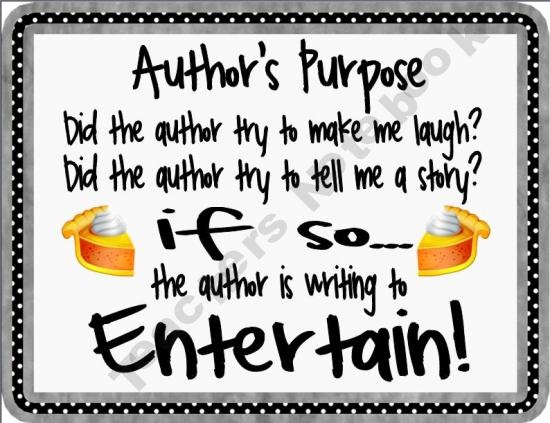 Advertisement clipart author's purpose @ Purpose Author's on images