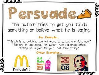 Advertisement clipart author's purpose Charts! Purpose Author's Pinterest on