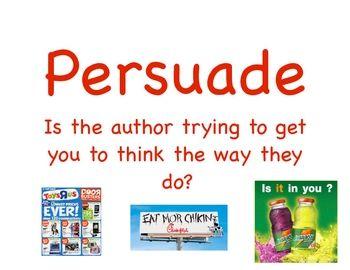 Advertisement clipart author's purpose Purpose signs Three images Purpose