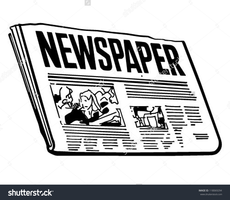 Advertisement clipart editorial Editorial Editorial Clipart Clipart Newspaper