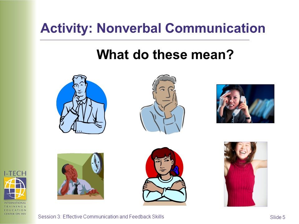Advertisement clipart effective communication Nonverbal 3: Communication and Activity: