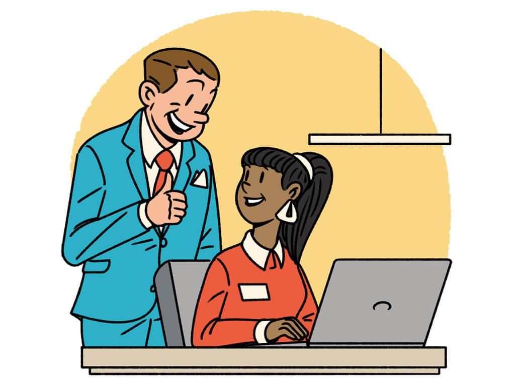 Advertisement clipart employer #4