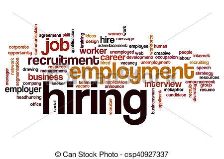 Advertisement clipart employer #2