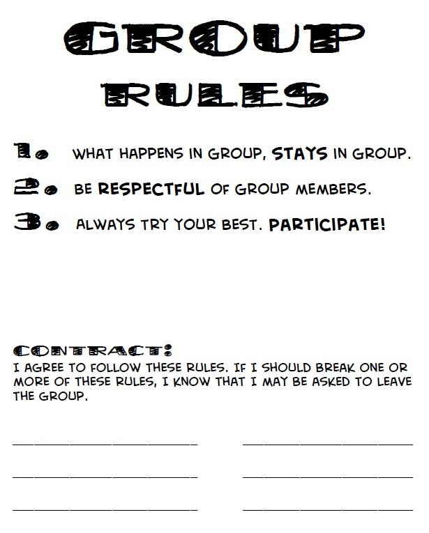 Advertisement clipart ground rules Picture rules Pinterest on ideas