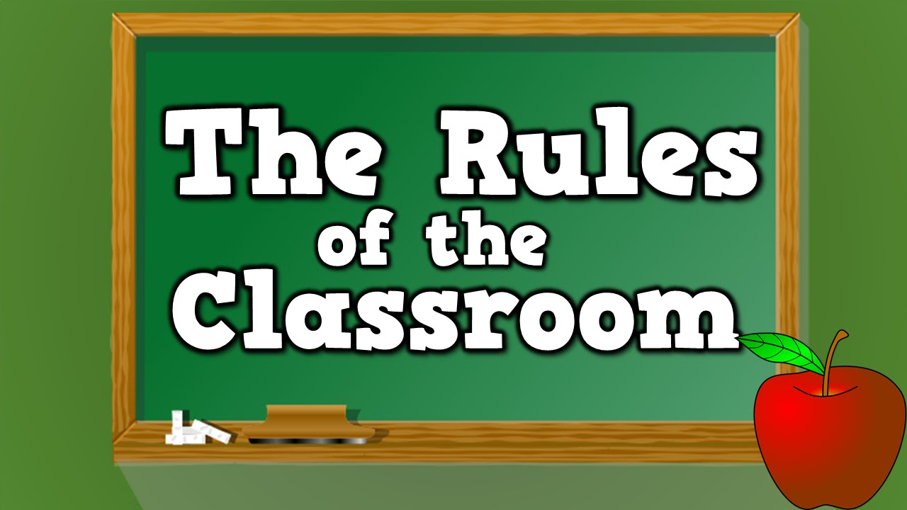 Advertisement clipart ground rules The Classroom kids Rules the