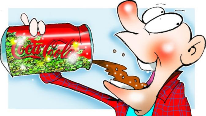 Advertisement clipart hindi Hindi stirs Coca 7 Cola