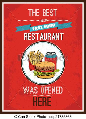 Advertisement clipart hotdog Clip poster Newly Art csp21735363
