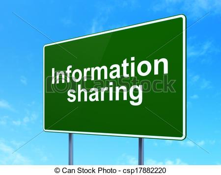 Advertisement clipart information sharing #2
