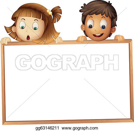 Notice clipart kid Showing Royalty Free Ad GoGraph