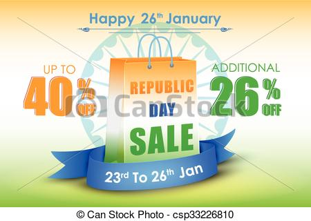 Advertisement clipart promotion And Republic India of advertisement