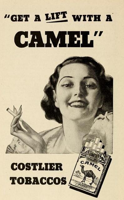 Advertisement clipart publication 99 publications 1937 Carolina Camel