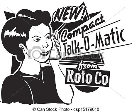 Advertisement clipart retro Art – Art Download Retro