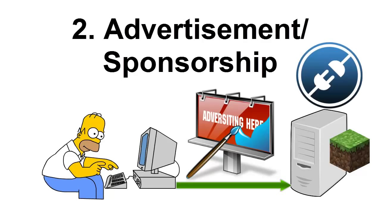Advertisement clipart update From Minecraft EULA Your Money