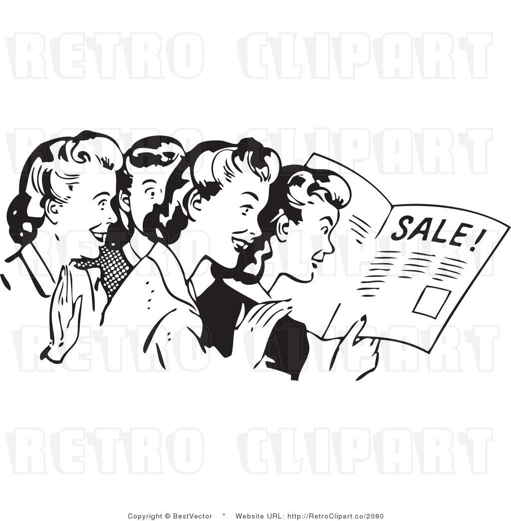 Advertisement clipart vintage woman Art Art Clipart Women Vintage