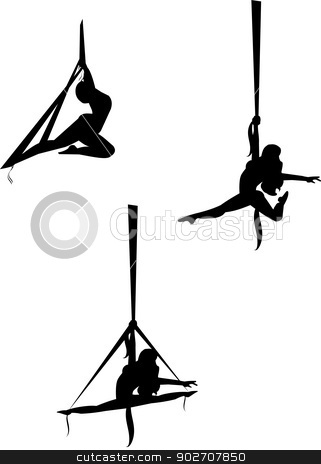 Aerial clipart transmitter Vector Gary stock aerial dancers