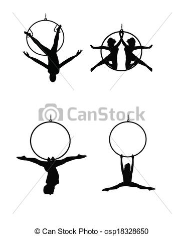 Aerial clipart Hoops aerial and 967 EPS