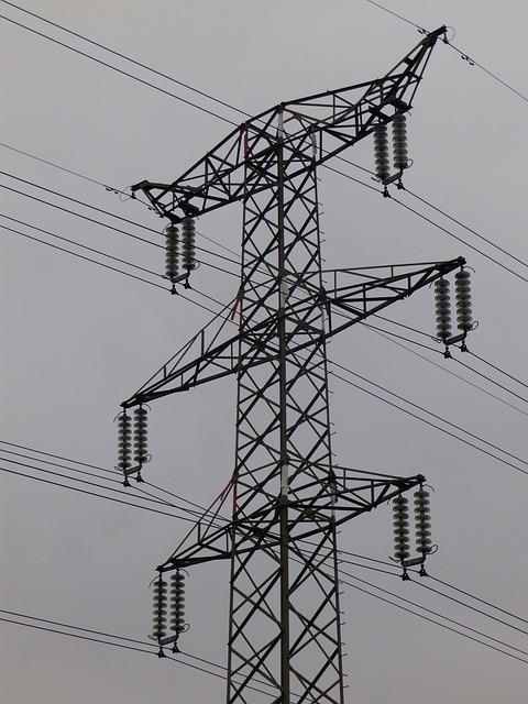 Transmission transmission voltage high current