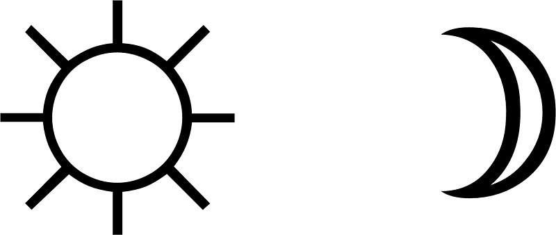 Minimalist design tumblr and Moon