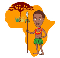 Africa clipart kid adventure Clipart Free Villager Kb Holdings