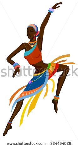 Africa clipart african dancing Vektorgrafiken Africa Clip Art Vektorgrafiken
