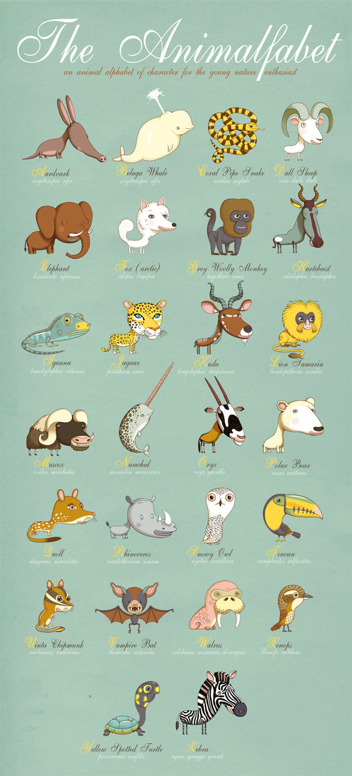 Africa clipart animal science Playful Posters the Animals Feature