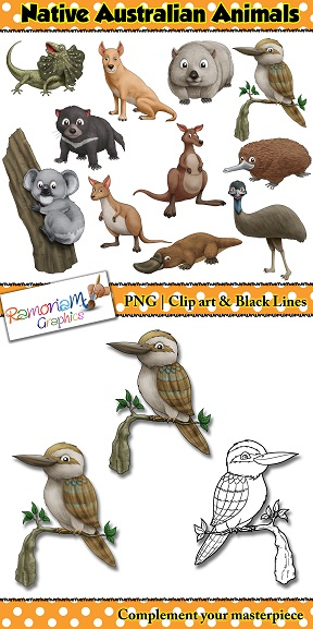 Africa clipart animal science Of animals Animals that clip