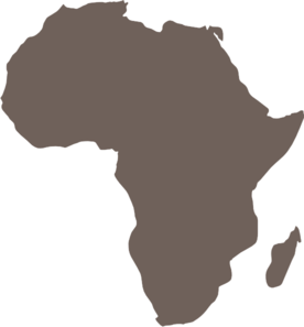 Africa clipart black and white Africa royalty at online Map