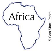 Africa clipart black and white Clip vector IllustrationsSee Africa Art