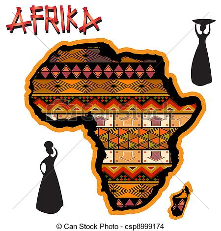 Continent clipart aftrica Continent  traditional of traditional