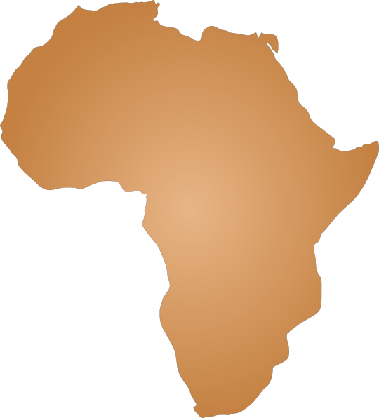 Continent clipart aftrica Com clip Art Outline this
