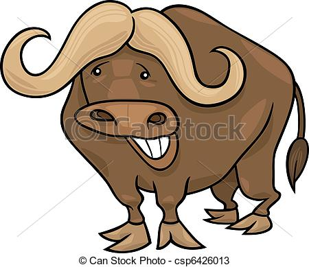 African Buffalo clipart funny Buffalo african african of african