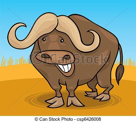 African Buffalo clipart bullock Cape african buffalo wild Vector
