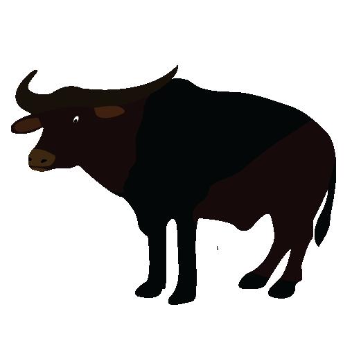 African Buffalo clipart carabao Kiaavto clipart throughout Clipartix Buffalo