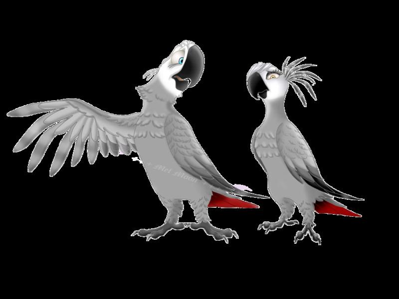 African Grey Parrot clipart deviantart By DeviantArt African MelHellMoon's 3