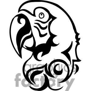 African Grey Parrot clipart parrot head Clip head parrot art Grey