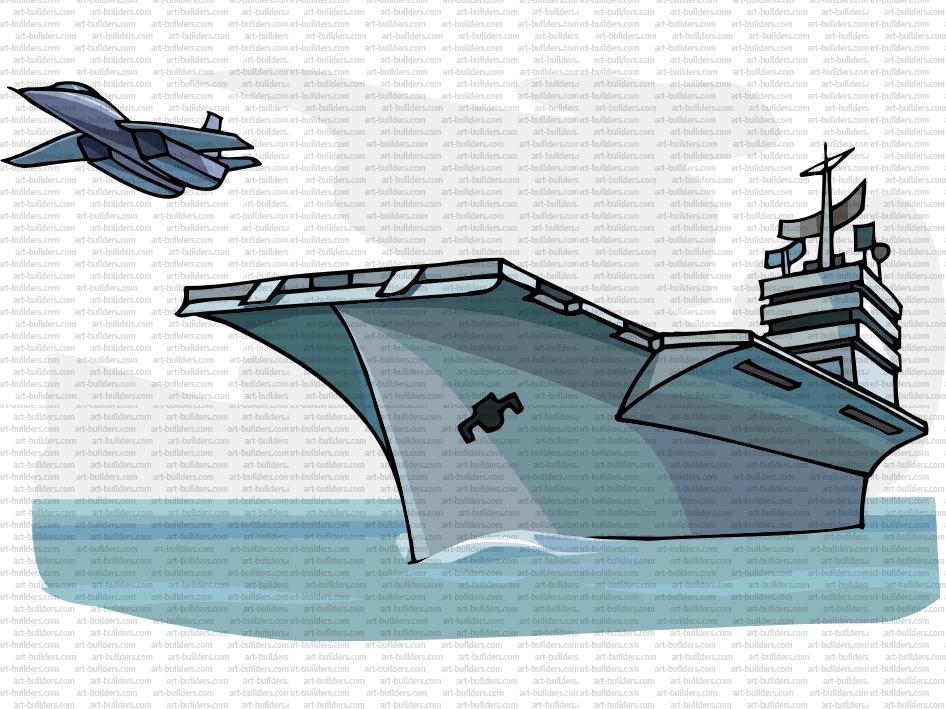 Aircraft Carrier clipart Clipart clipart kostenlose flugzeugträger ClipartLogocom