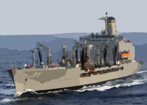 Aircraft Carrier clipart destroyer #6