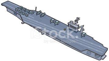 Aircraft Carrier clipart destroyer #3