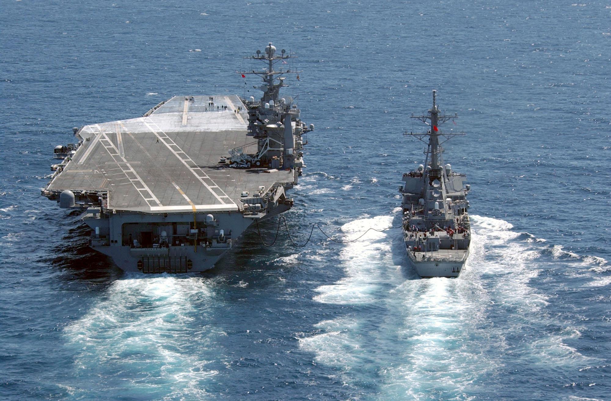 Aircraft Carrier clipart destroyer #5
