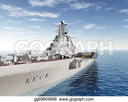 Aircraft Carrier clipart destroyer #9
