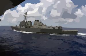 Aircraft Carrier clipart destroyer #1