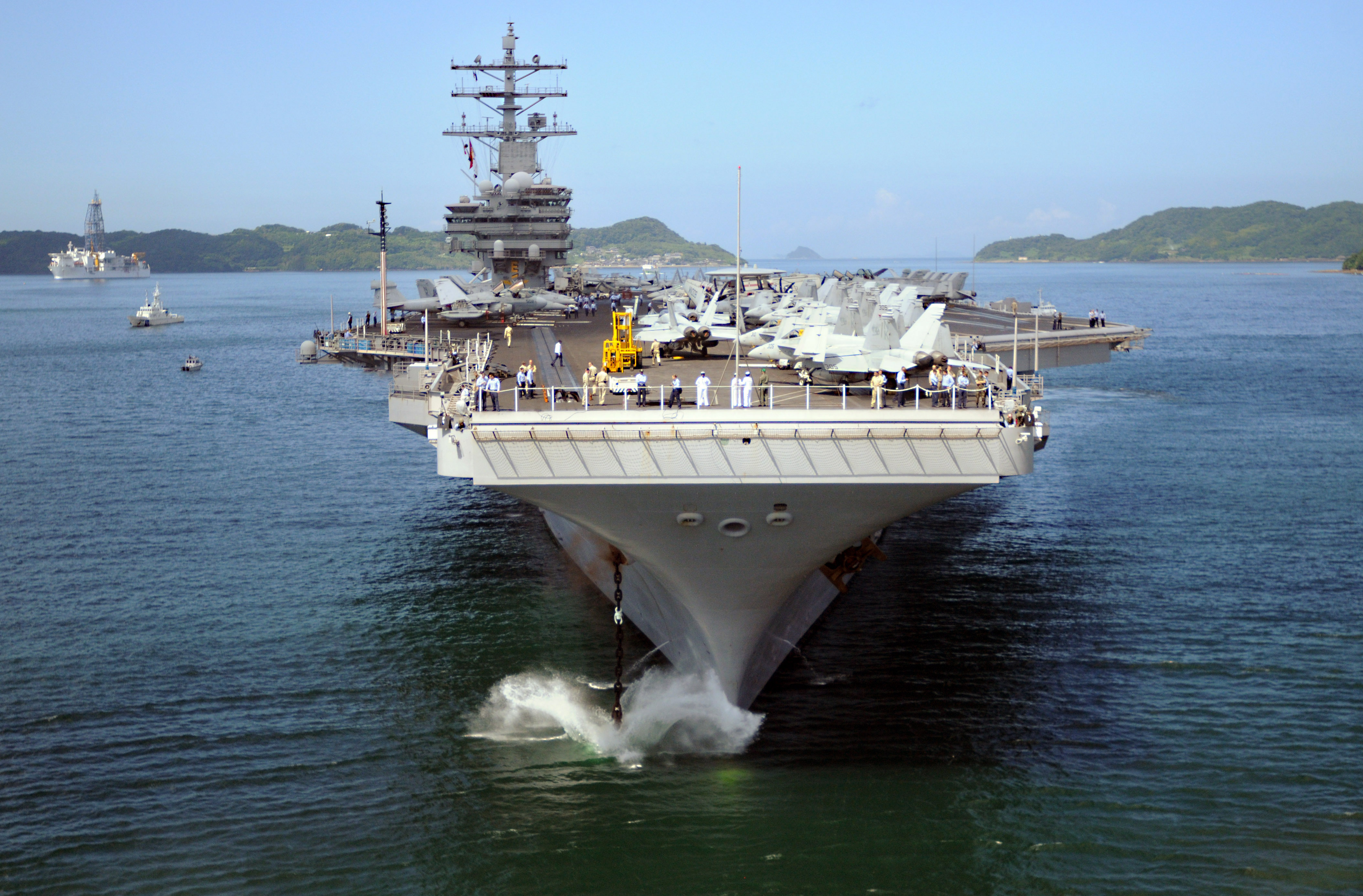 Aircraft Carrier clipart navy ship Free Stock a Navy of