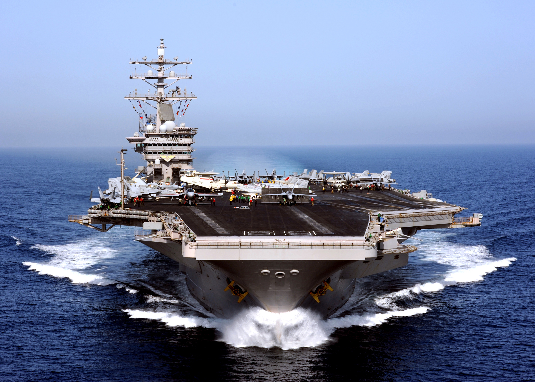 Aircraft Carrier clipart us army #3