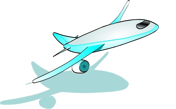 Aircraft clipart airplane takeoff Office Taking art vector Plane