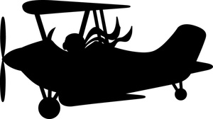 Airplane clipart biplane Biplane Clipart Image: Old Biplane
