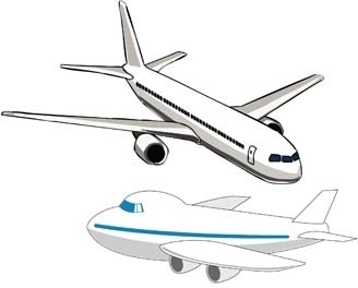 Aircraft clipart boeing Free (13 vector Free commercial