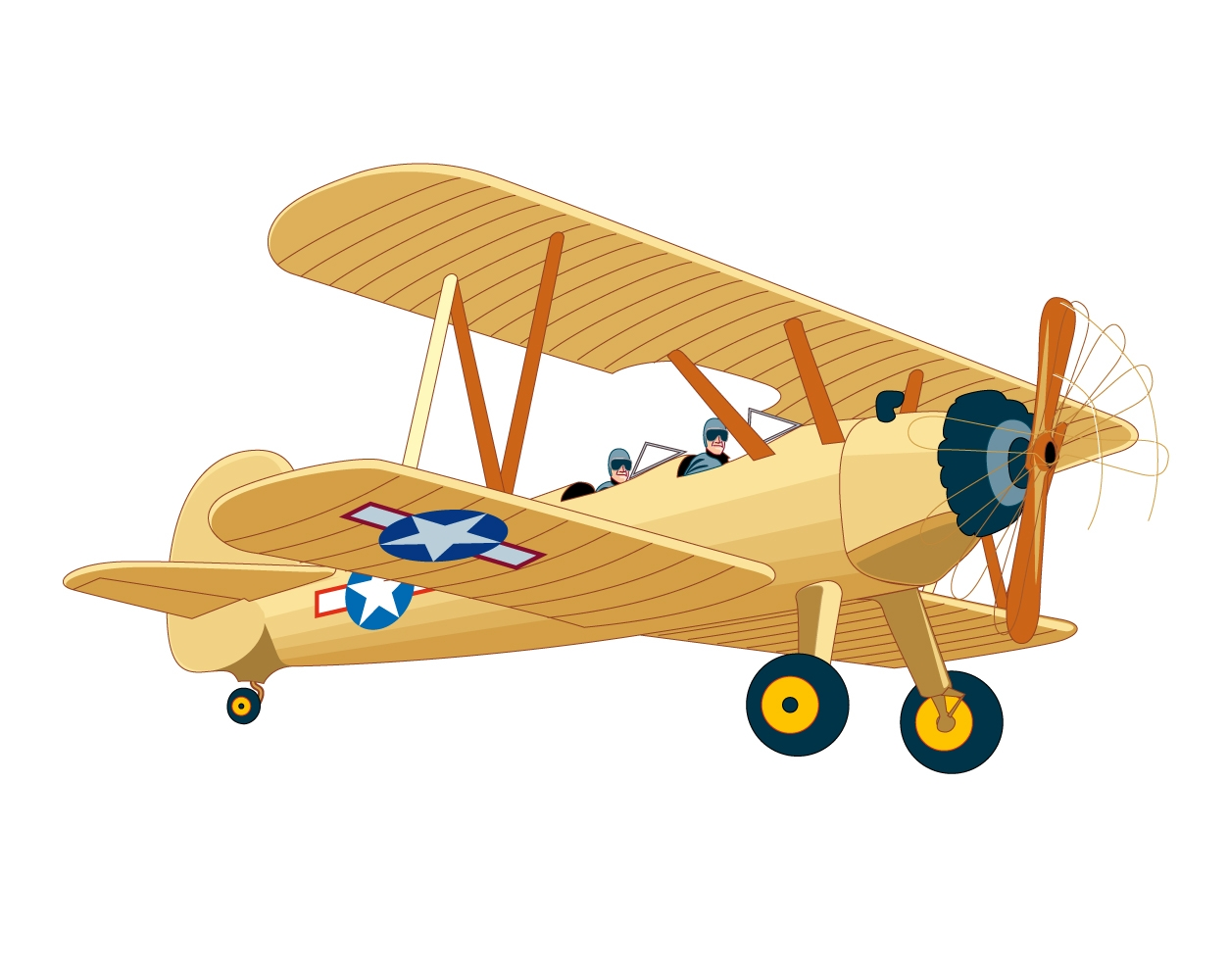 Aviation clipart old plane Vintage #4041 Airplane Clipart Airplane