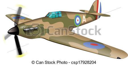 Aircraft clipart spitfire Csp17928204 SPITFIRE Vector SPITFIRE of