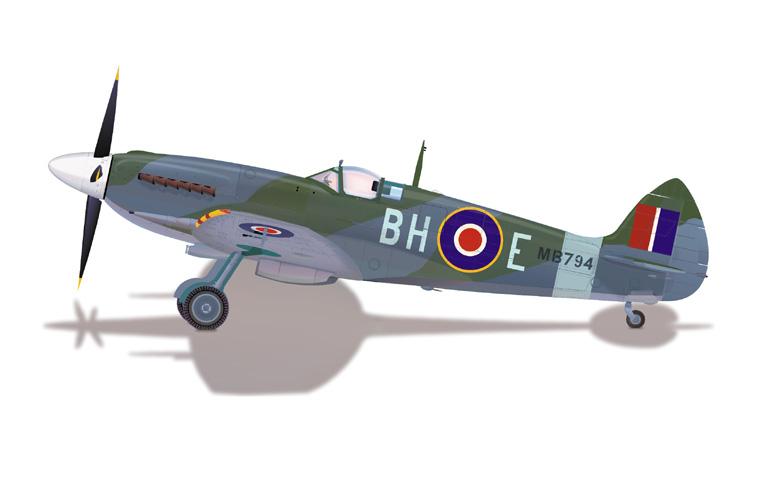 Aircraft clipart spitfire Jpg com admin mk_xii Graphicommunication